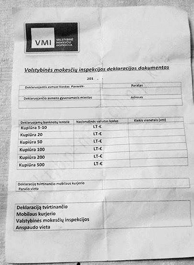 VMI: namuose surašinėdami pinigus lankosi sukčiai