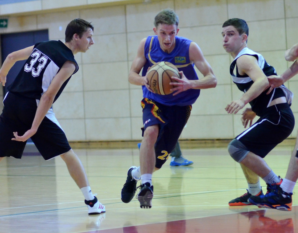 Krepšinio pirmenybėse