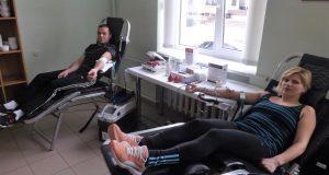 kraujo donorai