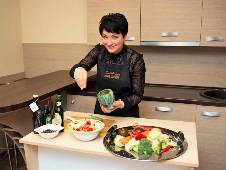 """Rita Šilenskienė: """"Mano tikslas: sotus, laimingas ir sveikas žmogus"""""""