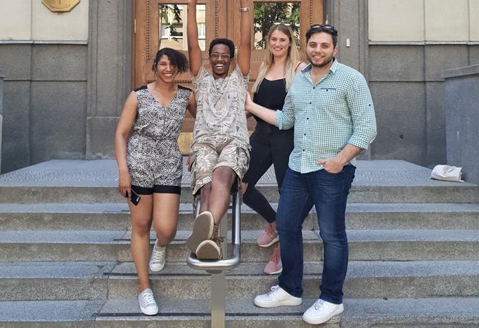 Medicinos studentai išgelbėjo gyvybę bendramoksliui