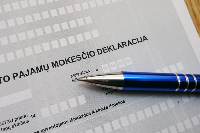 Pajamų deklaravimas šiais metais vyks kitaip: po Velykų deklaruoti pradės individualią veiklą vykdantys gyventojai
