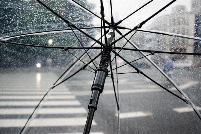 Šiandien dieną daug kur nedideli krituliai (lietus, šlapdriba)